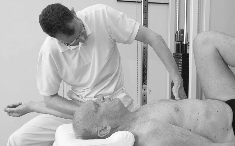 Rolfing massage video